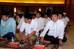 Kasdam dan staf menghadiri Bukber di Kobangdikal